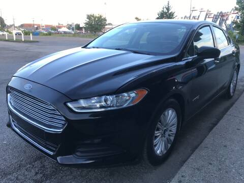 2016 Ford Fusion Hybrid for sale at 5 STAR MOTORS 1 & 2 in Louisville KY