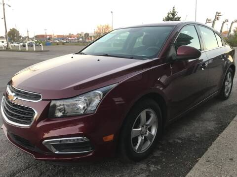 2016 Chevrolet Cruze Limited for sale at 5 STAR MOTORS 1 & 2 in Louisville KY