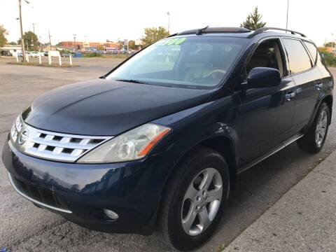2004 Nissan Murano for sale at 5 STAR MOTORS 1 & 2 in Louisville KY