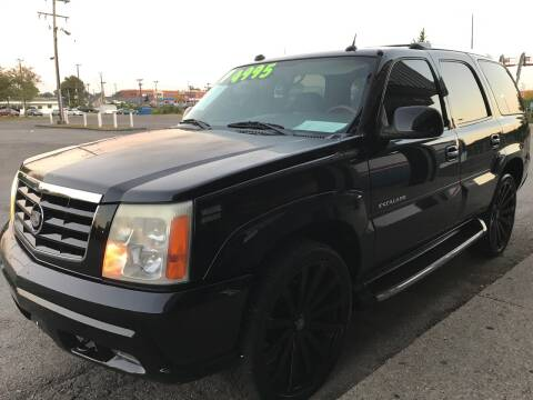 2004 Cadillac Escalade for sale at 5 STAR MOTORS 1 & 2 in Louisville KY
