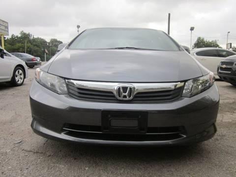 2012 Honda Civic for sale in Santiago, AL