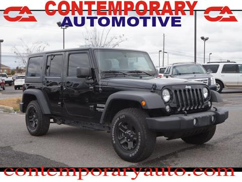 2017 Jeep Wrangler Unlimited for sale in Tuscaloosa, AL
