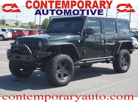 2012 Jeep Wrangler Unlimited for sale in Tuscaloosa, AL
