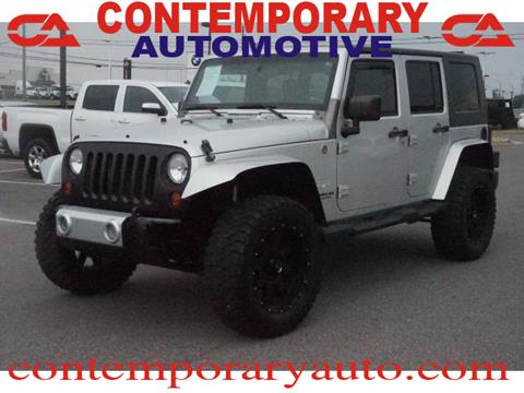 2008 Jeep Wrangler Unlimited for sale in Tuscaloosa, AL