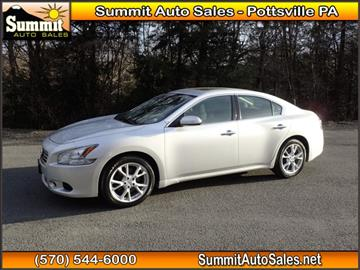 2013 Nissan Maxima for sale in Pottsville, PA