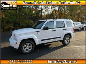 2012 Jeep Liberty for sale in Pottsville, PA