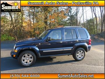 2007 Jeep Liberty for sale in Pottsville, PA