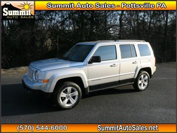 2012 Jeep Patriot for sale in Pottsville, PA