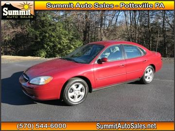 2002 Ford Taurus for sale in Pottsville, PA