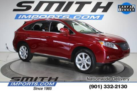 2011 Lexus RX 350 for sale at SMITH IMPORTS in Memphis TN