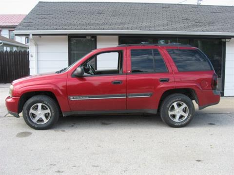 2002 Chevrolet TrailBlazer for sale in Perry, IA