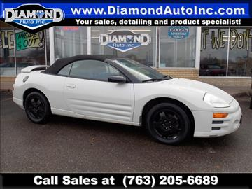 2003 Mitsubishi Eclipse Spyder for sale in Ramsey, MN