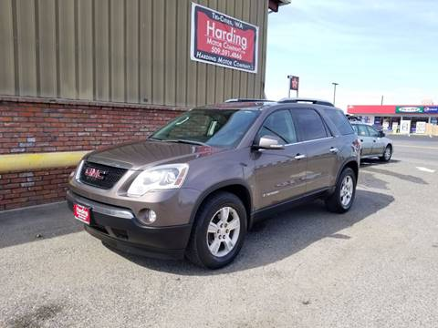 2008 GMC Acadia for sale at Harding Motor Company in Kennewick WA