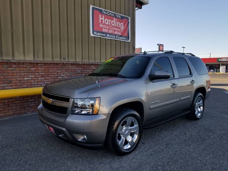 2007 Chevrolet Tahoe For Sale At Harding Motor Company In Kennewick WA