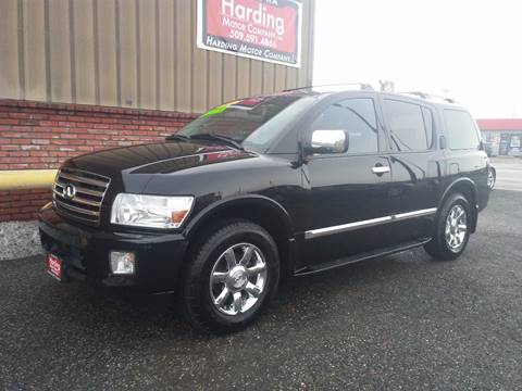2006 Infiniti QX56 for sale at Harding Motor Company in Kennewick WA