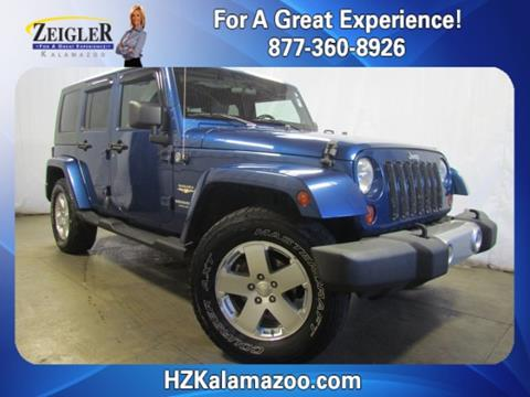 2009 Jeep Wrangler Unlimited for sale in Kalamazoo, MI