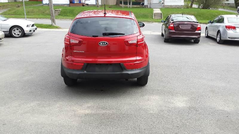2011 Kia Sportage AWD LX 4dr SUV - Massena NY