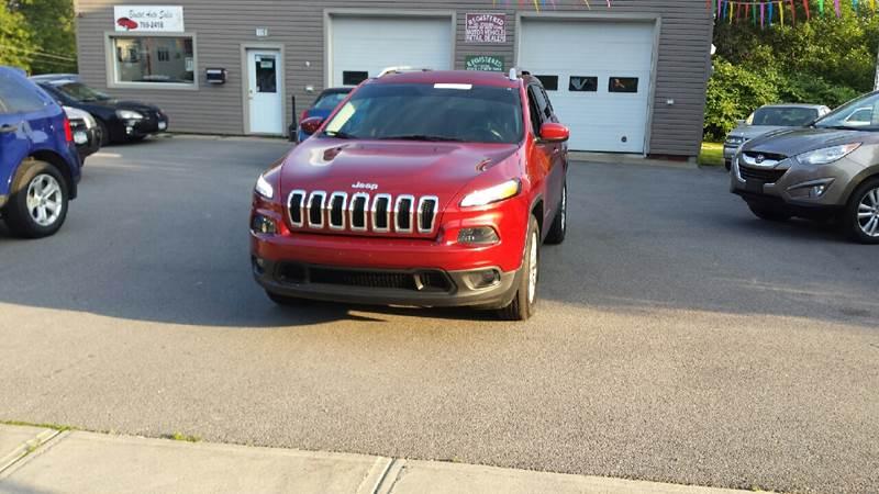 2015 Jeep Cherokee 4x4 Latitude 4dr SUV - Massena NY