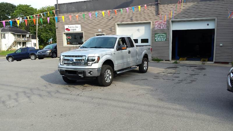 2013 Ford F-150 4x4 XLT 4dr SuperCab Styleside 6.5 ft. SB - Massena NY