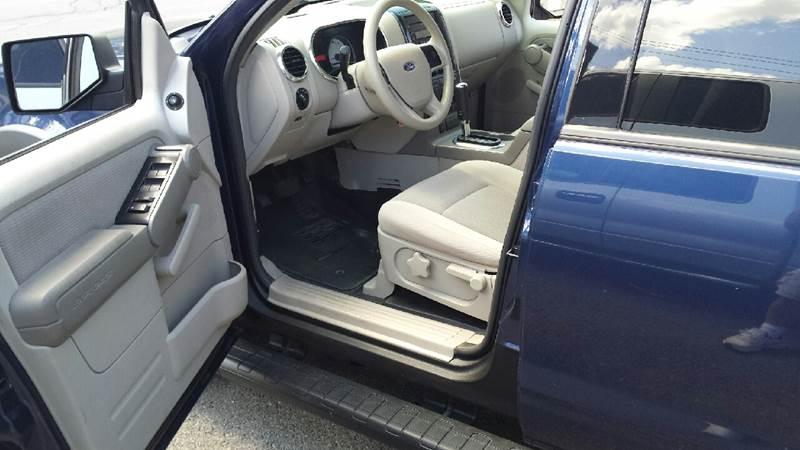 2007 Ford Explorer Sport Trac XLT 4dr Crew Cab 4WD V6 - Massena NY