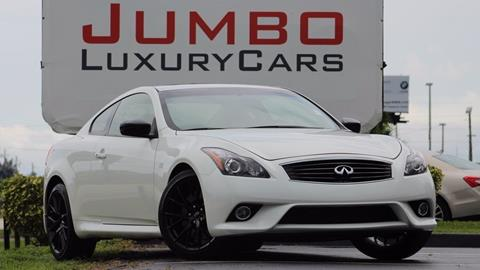 2015 Infiniti Q60 Coupe for sale in Fort Pierce, FL