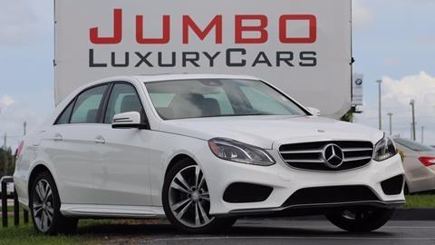 2014 Mercedes-Benz E-Class for sale in Fort Pierce, FL