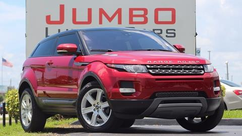 2013 Land Rover Range Rover Evoque Coupe for sale in Fort Pierce, FL