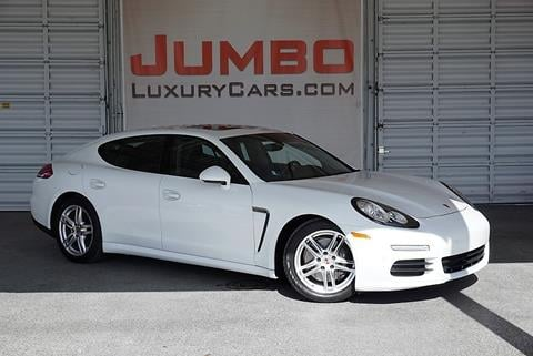 2014 Porsche Panamera for sale in Hollywood, FL