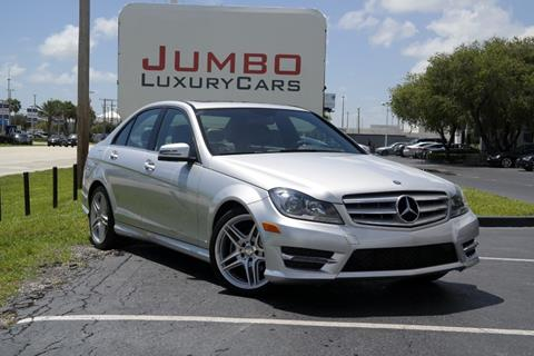 2013 Mercedes-Benz C-Class for sale in Fort Pierce, FL