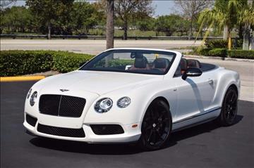 2014 Bentley Continental GTC V8 S for sale in Hollywood, FL