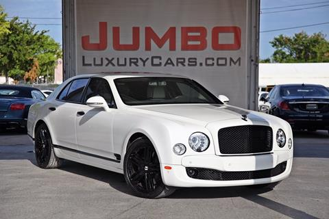 2013 Bentley Mulsanne for sale in Hollywood, FL