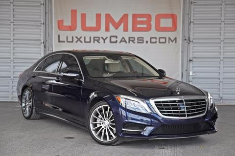 2015 Mercedes-Benz S-Class for sale in Hollywood, FL