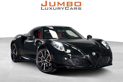 2016 Alfa Romeo 4C for sale in Hollywood, FL