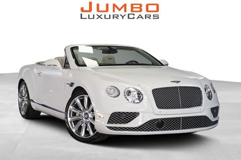 2016 Bentley Continental for sale in Hollywood, FL