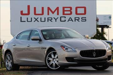 2014 Maserati Quattroporte for sale in Fort Pierce, FL