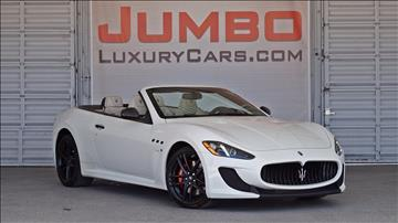 2014 Maserati GranTurismo for sale in Hollywood, FL