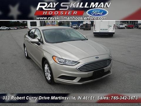 2017 Ford Fusion for sale in Martinsville, IN