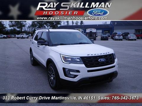 2017 Ford Explorer for sale in Martinsville, IN