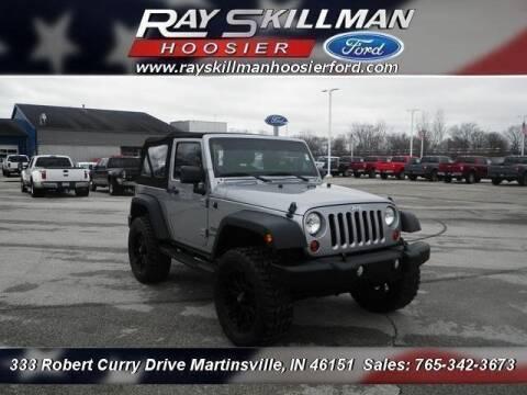 2013 Jeep Wrangler for sale in Martinsville, IN