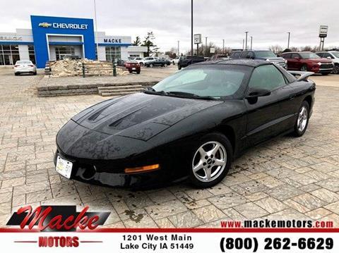 1996 Pontiac Firebird for sale in Lake City, IA