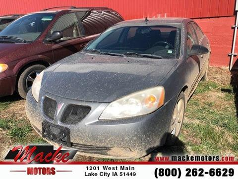 2008 Pontiac G6 for sale in Lake City, IA