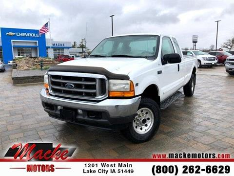 2001 Ford F-250 Super Duty for sale in Lake City, IA