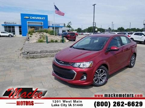 2019 Chevrolet Sonic for sale in Lake City, IA