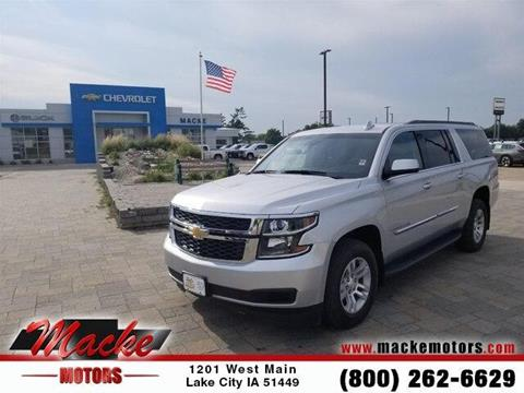 2016 Chevrolet Suburban for sale in Lake City, IA