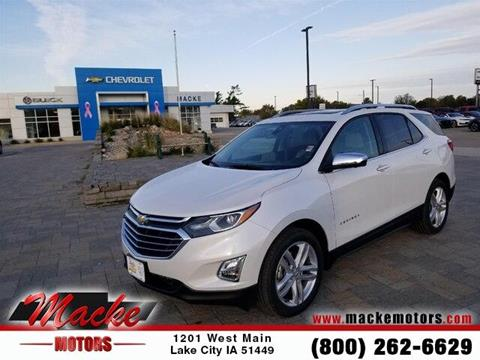 2019 Chevrolet Equinox for sale in Lake City, IA