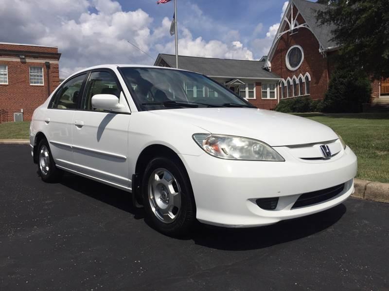 2004 Honda Civic Hybrid 4dr Sedan   Eden NC
