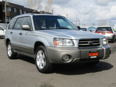 2004 Subaru Forester XS for sale at Bickmore Auto Sales in Gresham OR
