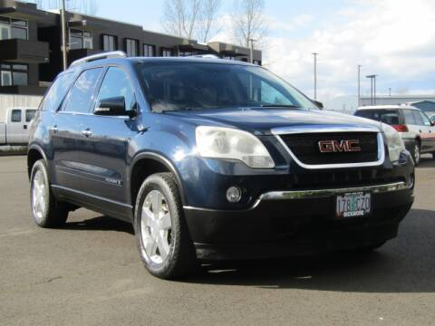 2007 GMC Acadia SLT-2 for sale at Bickmore Auto Sales in Gresham OR