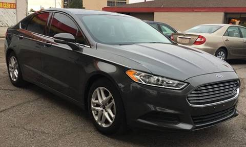 2015 Ford Fusion for sale at Fiesta Motors Inc in Las Cruces NM