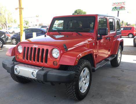 2011 Jeep Wrangler Unlimited for sale at Fiesta Motors Inc in Las Cruces NM